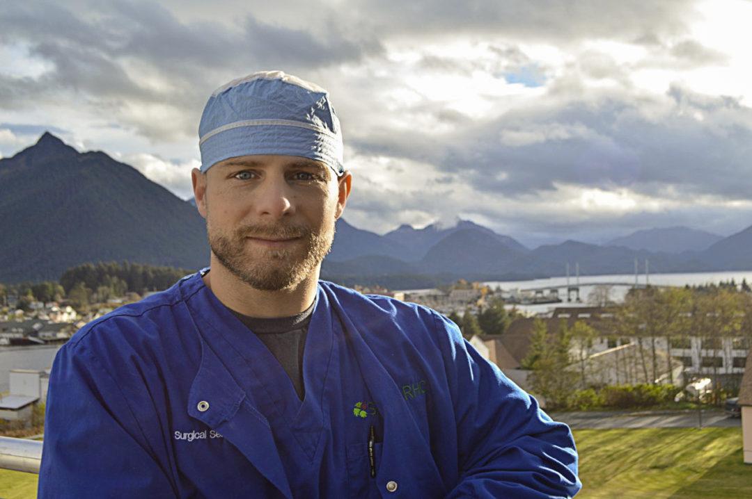 Photo of SEARHC Mt. Edecumbe Hospital CNA aka American Ninja, Cody Johnston