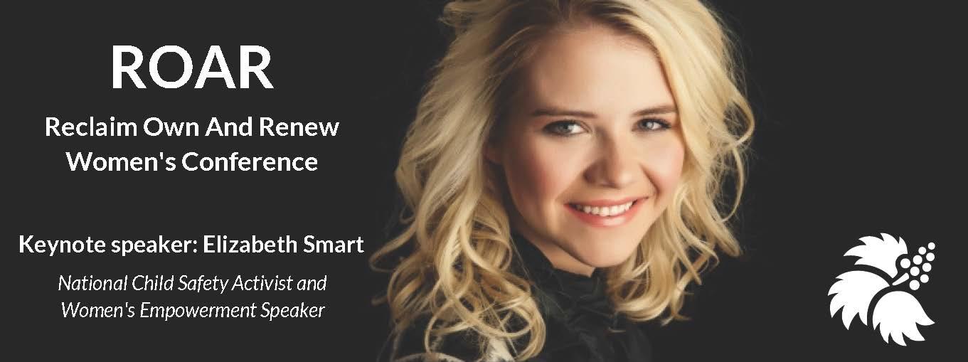 SEARHC Keynote speaker, Elizabeth Smart