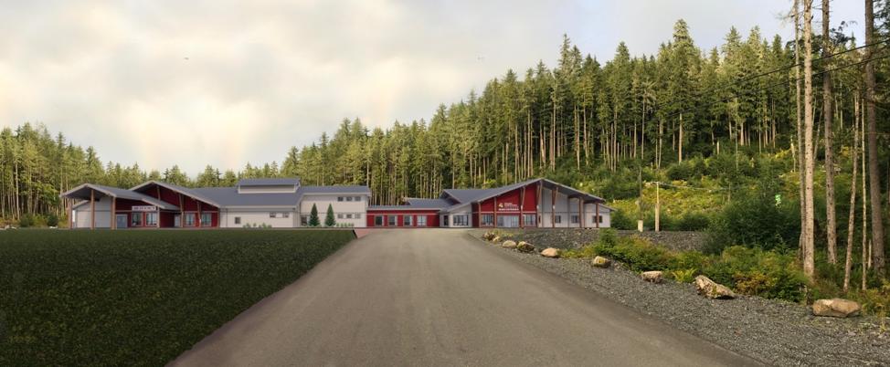 Final exterior conceptual design of the new WMC campus