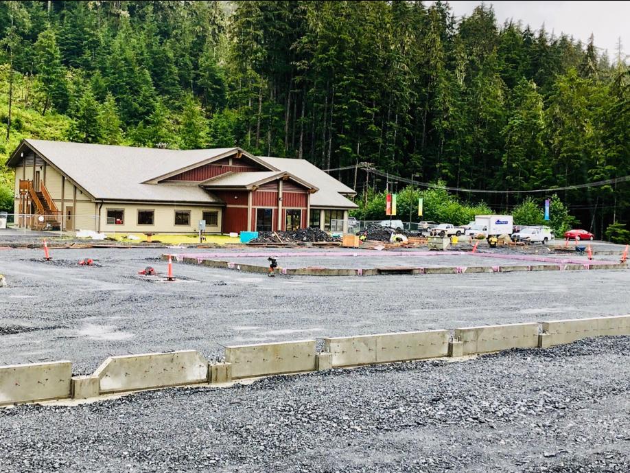 WMC Build site foundation - Close-up