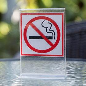 cigarette-free sign